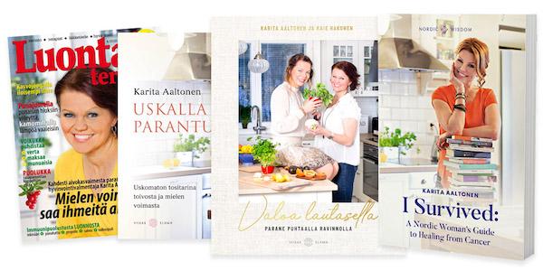 Karita Nordic Healing books and magazines